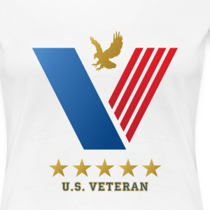 U.S. VETERANS...Thank you for your Service! Women's T-Shirts - Women's Premium T-Shirt