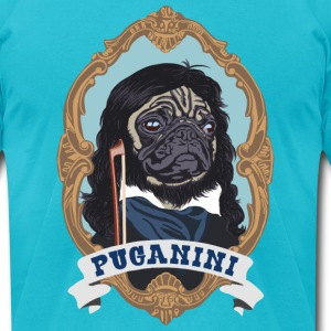 Puganini - Men's T-Shirt by American Apparel
