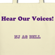 Design ~ Tote bag - Hear Our Voices