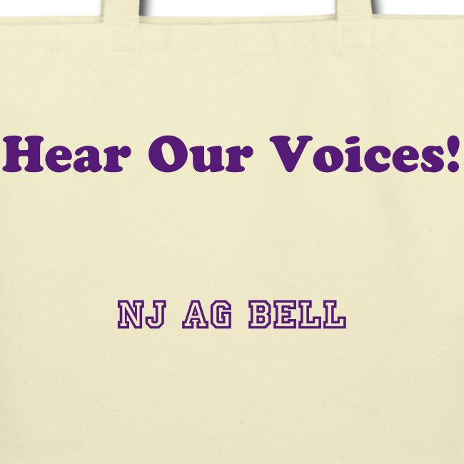 Tote bag - Hear Our Voices