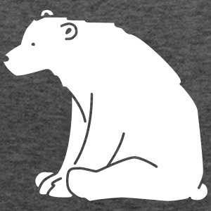 Polar Bear Tanks - Women's Flowy Tank Top by Bella