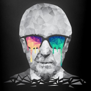 Albert Hofmann - Psychedelic Polygon Portrait Accessories - Full Color Mug