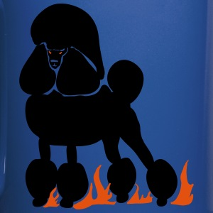 Mephistopheles, the Demon Poodle - Full Color Mug