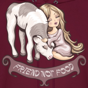 Friend not food Hoodies - Men's Hoodie