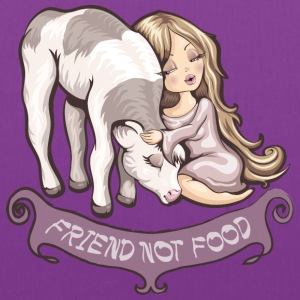 Friend not food Bags & backpacks - Tote Bag
