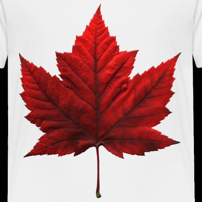 Canada Baby T-shirt Maple Leaf Canada Souvenir