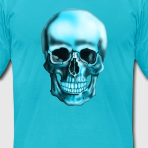 skull T-Shirts - Men's T-Shirt by American Apparel