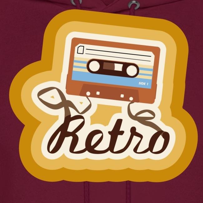 Retro Cassette Hoodie