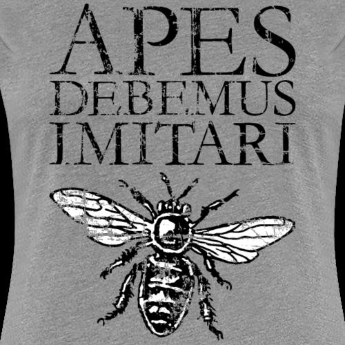 APES DEBEMUS IMITARI Beekeeper Latin Phrase