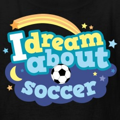 Soccer (I Love) Cute Gift Kids' Shirts