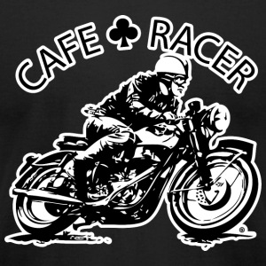 Cafe Racer - Men's T-Shirt by American Apparel