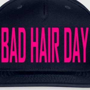 BAD HAIR DAY SNAPBACK - Snap-back Baseball Cap
