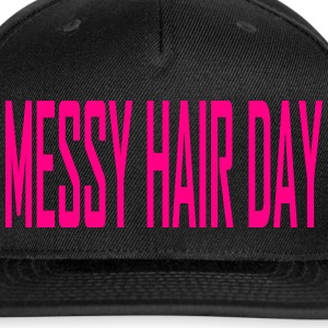 MESSY HAIR DAY SNAPBACK - Snap-back Baseball Cap