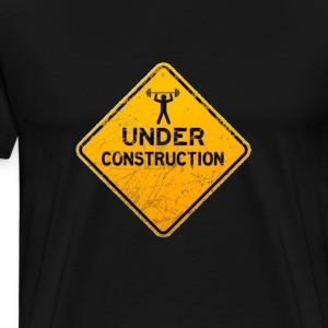 under_construction - Men's Premium T-Shirt