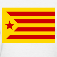 Design ~ flag of catalonia Women's T-Shirts
