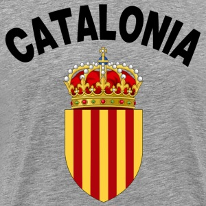 catalonia coat of arms T-Shirts - Men's Premium T-Shirt