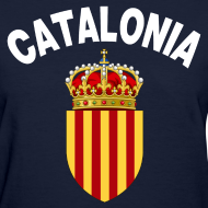 Design ~ catalonia coat of arms Women's T-Shirts
