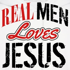 Real men love jesus Hoodies