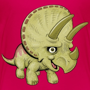 Cute Triceratops - Toddler Premium T-Shirt