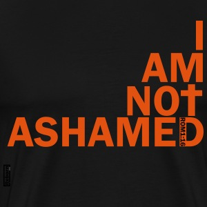 i am not ashamed red T-Shirts - Men's Premium T-Shirt