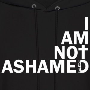 i am not ashamed red Hoodies - Men's Hoodie
