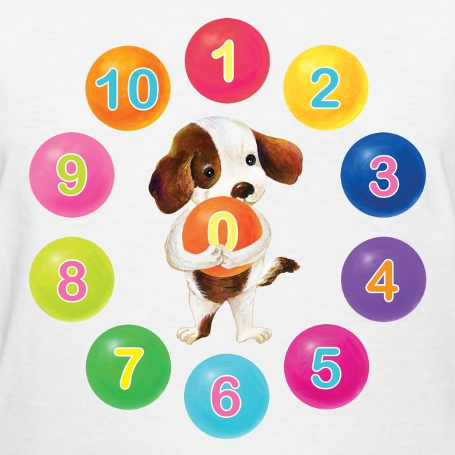 Number Dog for women