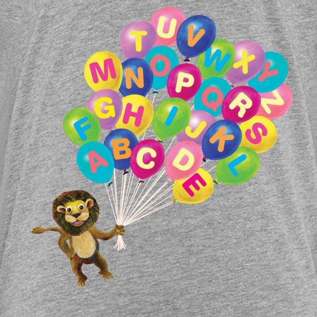 Alphabet Balloon Lion