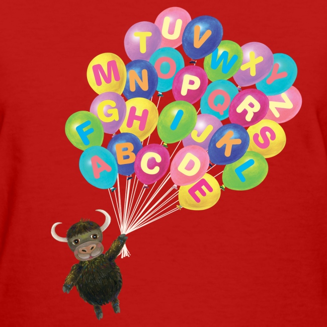 Alphabet Balloon Yak for women