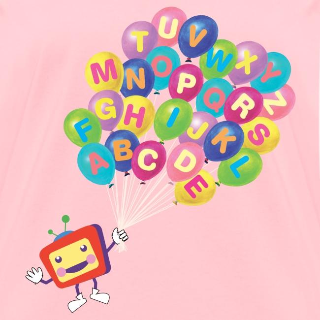 Alphabet Balloon ABCkidTV for women