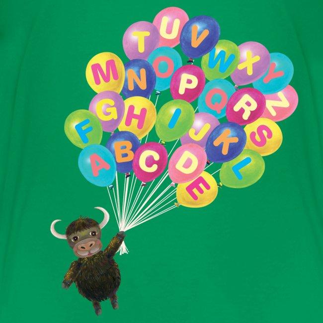 Alphabet Balloon Yak