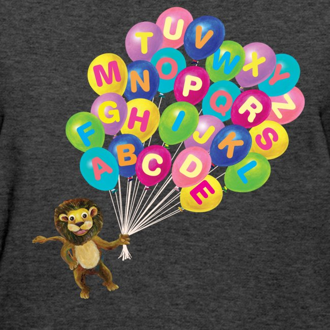 Alphabet Balloon Lion for women