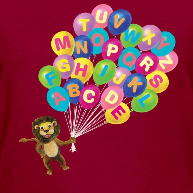 Alphabet Balloon Lion for women