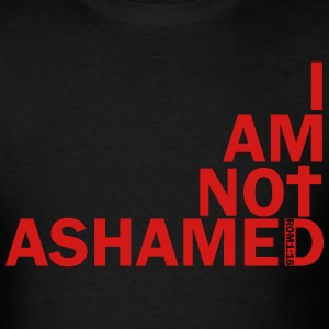 i am not ashamed red T-Shirts - Men's T-Shirt
