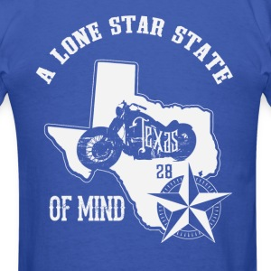Lone Star State of Mind FB - Men's T-Shirt