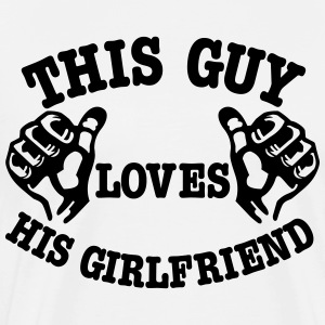 girlfriend T-Shirts - Men's Premium T-Shirt