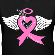 Design ~ I've held an angel (breast Cancer)