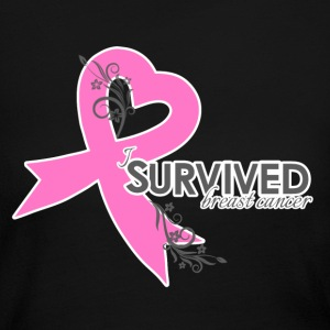I survived breat cancer2.png Long Sleeve Shirts - Women's Long Sleeve Jersey T-Shirt