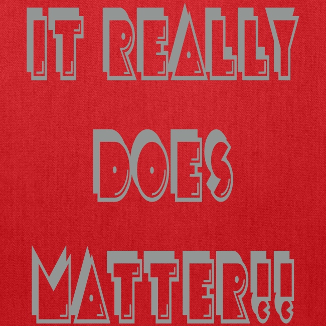 It really does matter