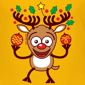 Cool Reindeer Decorating for Christmas Baby & Toddler Shirts - Toddler Premium T-Shirt