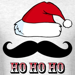 Mustache Santa Red T-Shirts - Men's T-Shirt