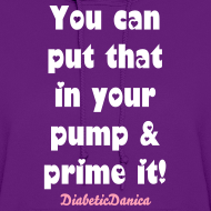 Design ~ You Can Put That In Your Pump - Women's hoodie