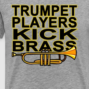trumpet_players_kick_brass - Men's Premium T-Shirt