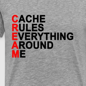 cache_rules_everything_around_me_cream_t - Men's Premium T-Shirt