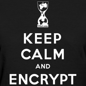 Keep calm and Encrypt T-Shirts - Women's T-Shirt