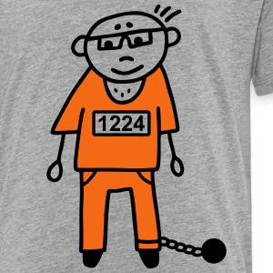 Prisoner - prison - V2 Baby & Toddler Shirts - Toddler Premium T-Shirt