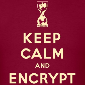Keep calm and Encrypt T-Shirts - Men's T-Shirt