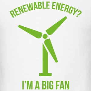 Renewable Energy - Men's T-Shirt