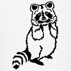 Raccoon T-Shirts - Men's T-Shirt