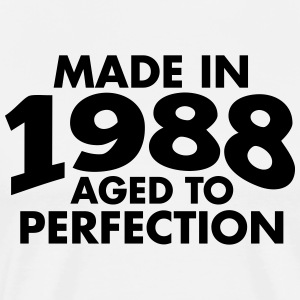 Made in 1988 Teesome T-Shirts - Men's Premium T-Shirt
