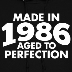 Made in 1986 Teesome Hoodies